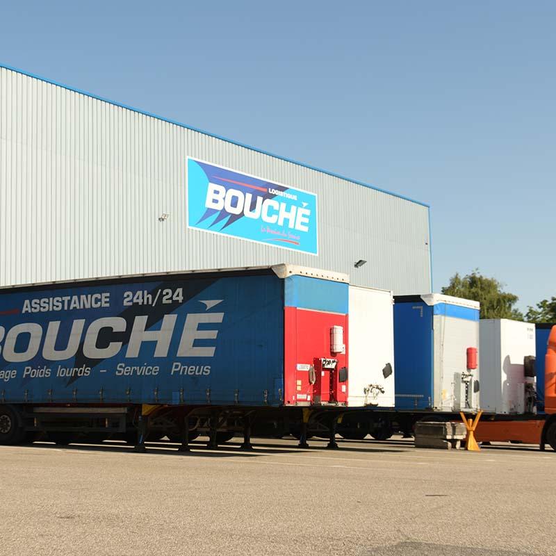 Développement de l'activité logistique avec la construction d'un entrepôt de 2500m²