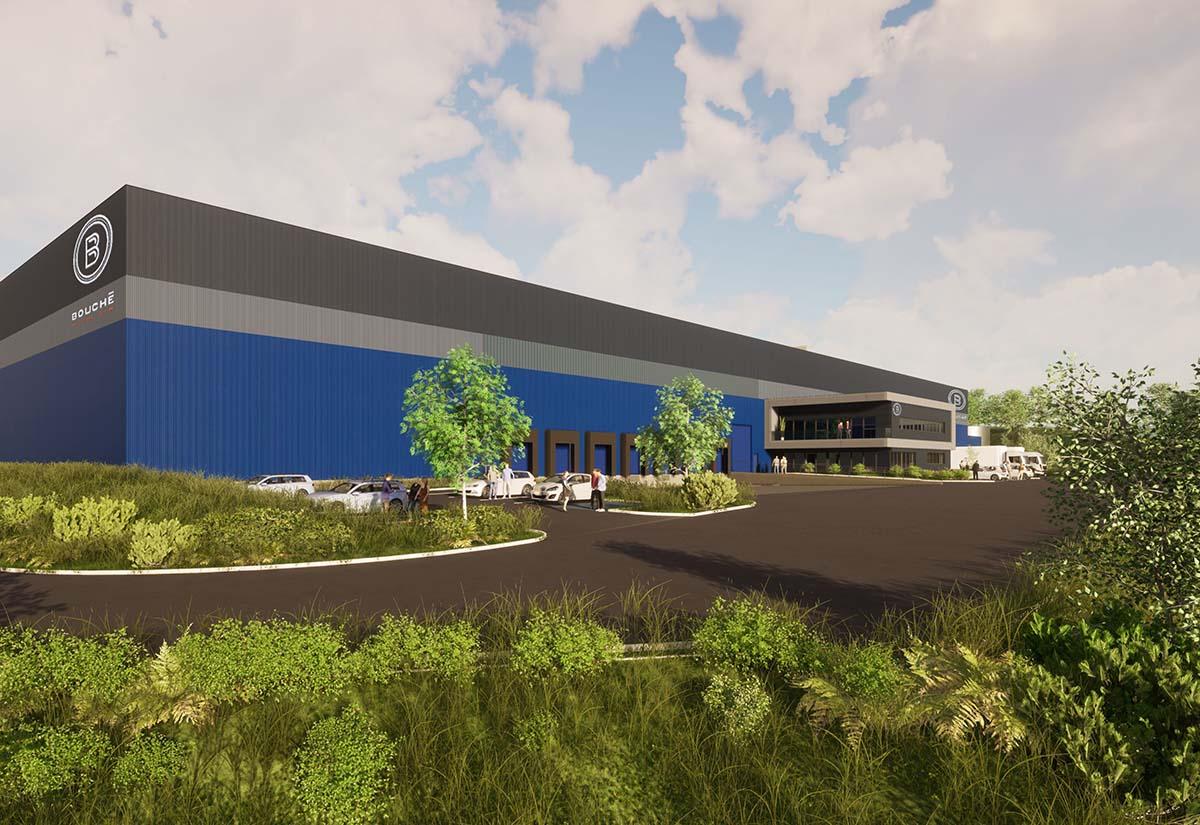 Eine zusätzliche 12.000m² große Halle