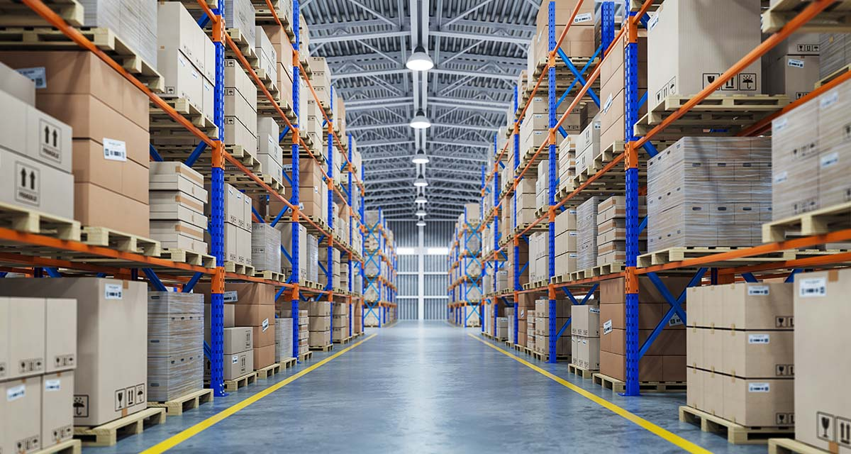 30,000m² of surface area is thus dedicated to our logistics activity.